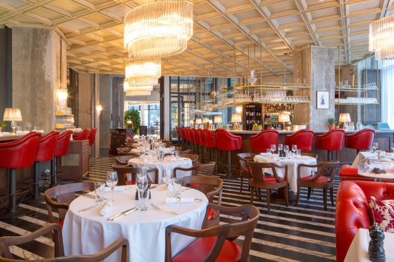 Restaurant Cecconi's at The Store im Soho House, Berlin © Soho House, Cecconi's Berlin