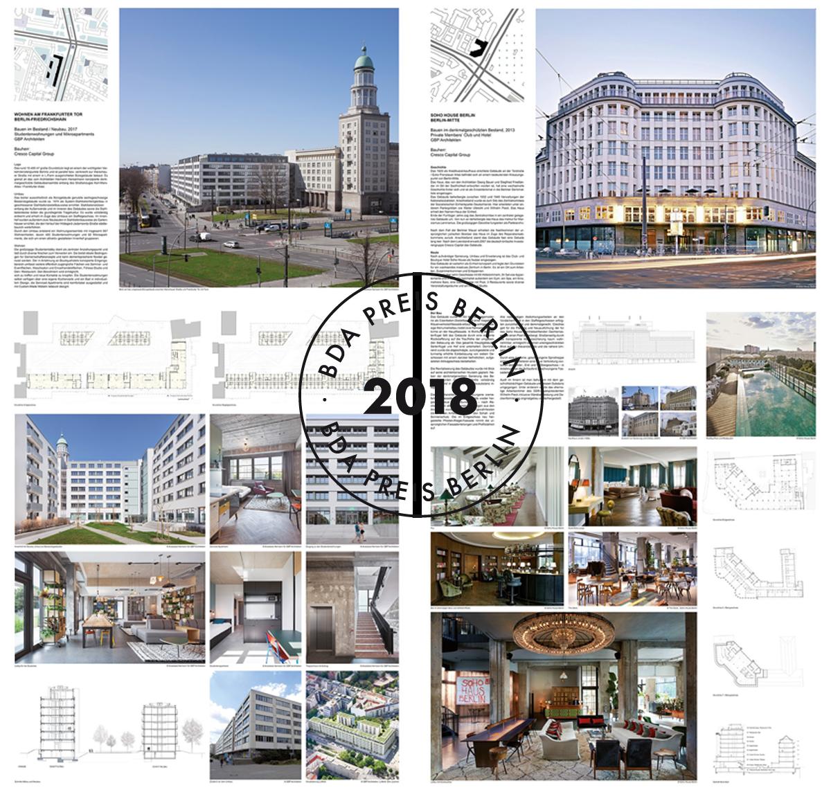 Verzauberkunst Architekten In Berlin Referenz Von Bda Preis 2018