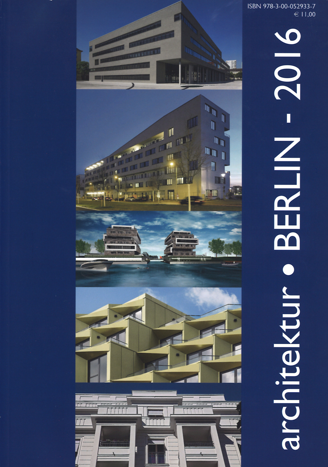 Cover des Magazins architektur.BERLIN - 2016