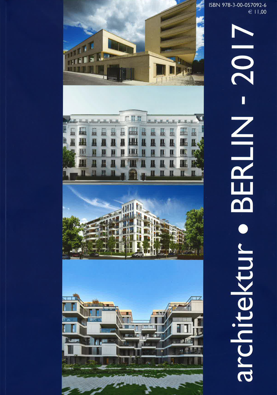 Cover des Magazins architektur.BERLIN - 2017
