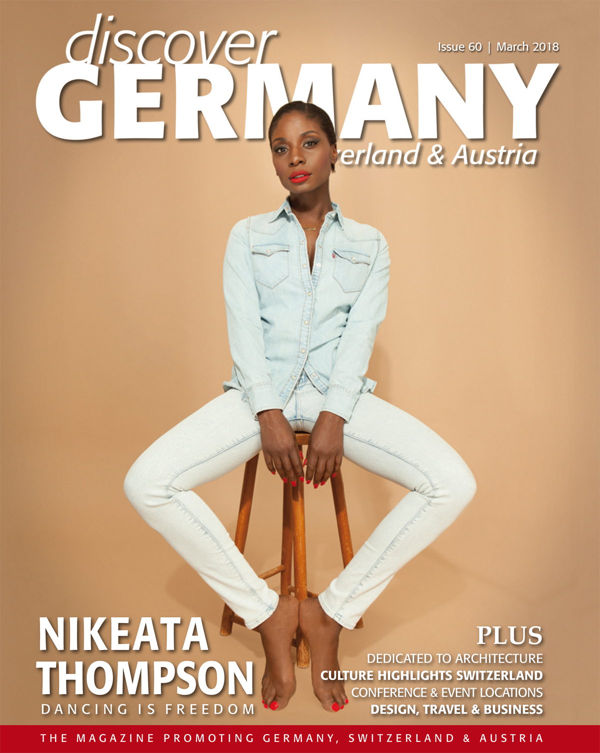 Cover des Discover Germany Magazins 60|18