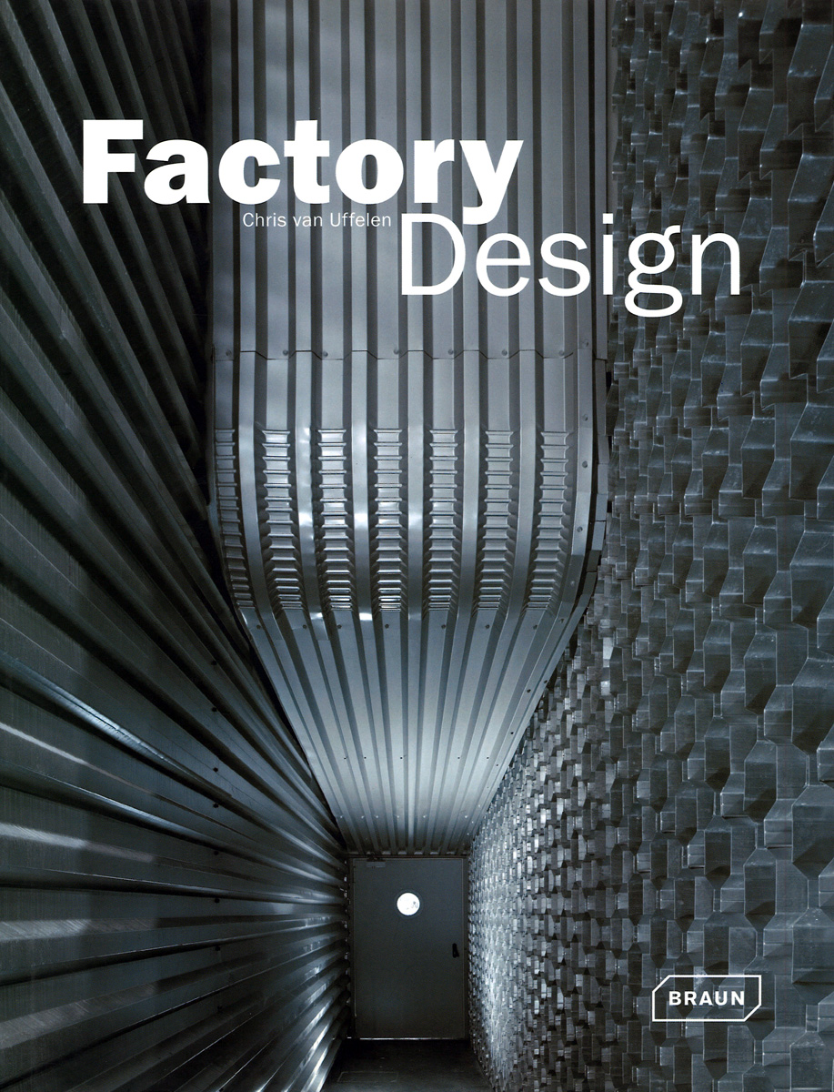 Cover des Buches Factory Design von Chris van Uffelen (2008)