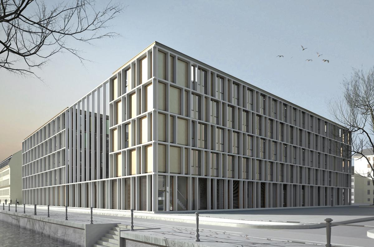 Neubau Landesregierung Brandenburg - GBP Architekten