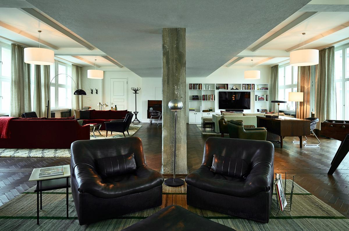soho house lofts gbp architekten. Black Bedroom Furniture Sets. Home Design Ideas