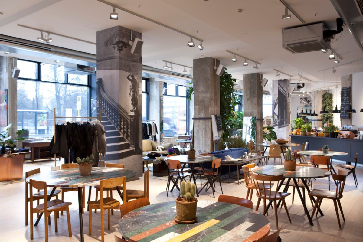 The Store Im Soho House Berlin Gbp Architekten