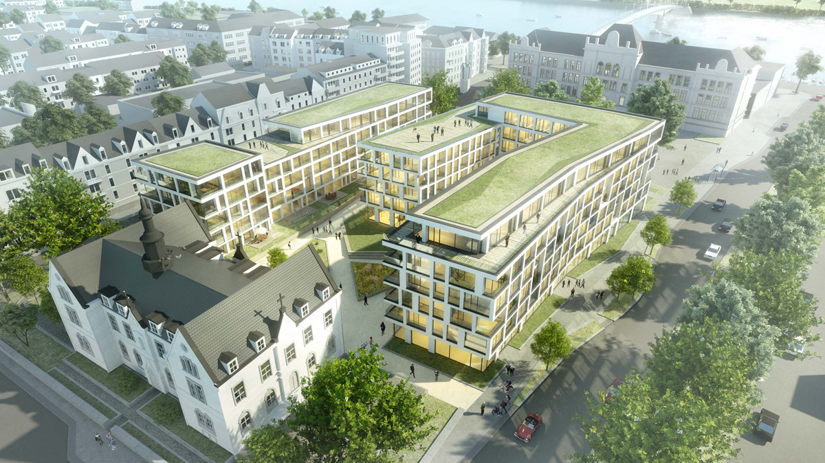 Architekten Konstanz vincentius areal leben am rhein gbp architekten