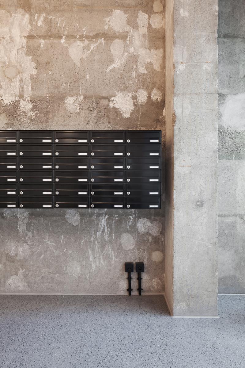 wohnen am frankfurter tor gbp architekten. Black Bedroom Furniture Sets. Home Design Ideas